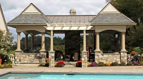 Fancy Pool Cabana